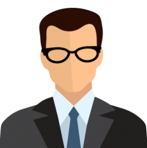 animated man with glasses political sms messages